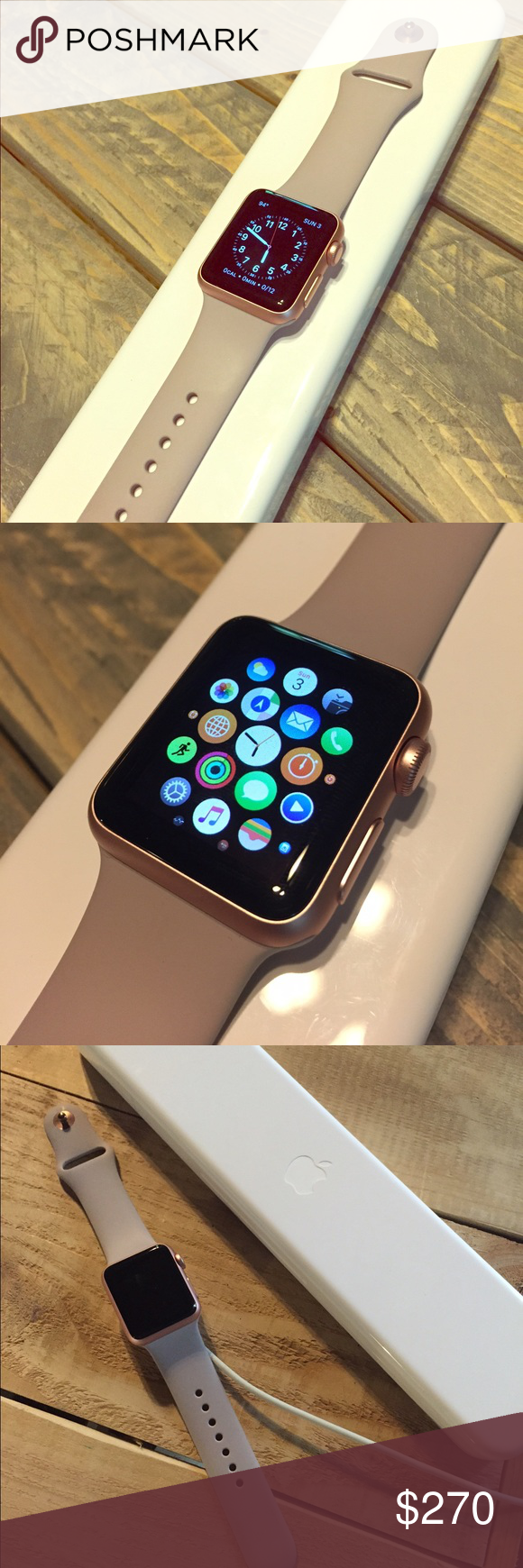 Rose gold Apple Watch (With images) Rose gold apple