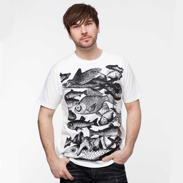 Vissen shirt - Spotted by Milledoni