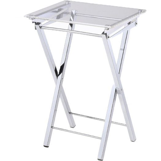 Riceboro 5 Piece Tv Tray Set Trays