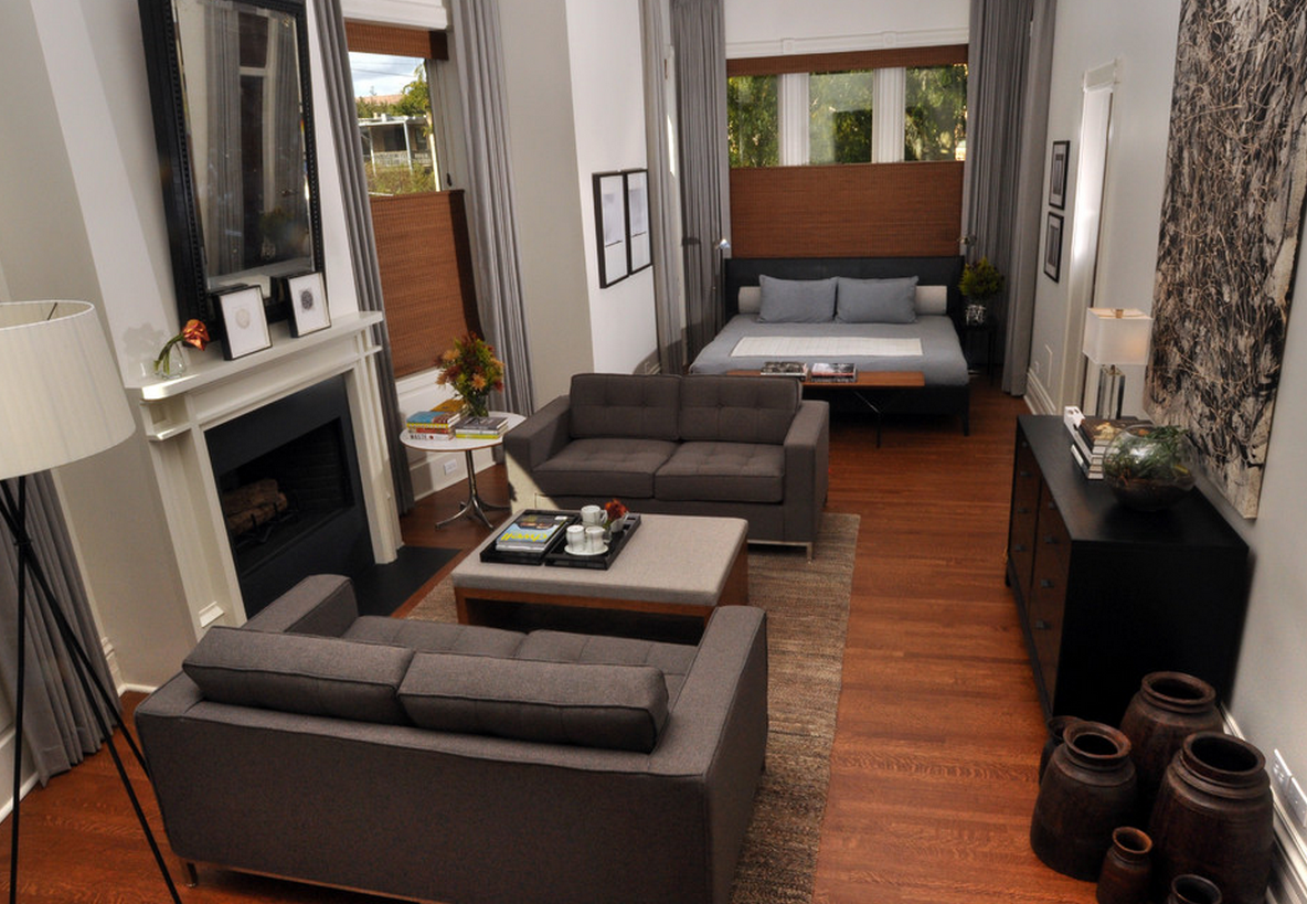 If youre really pressed for space try an open concept layout