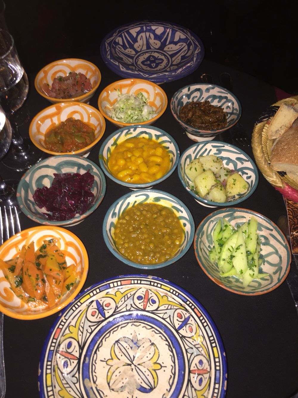 Moroccan dinners