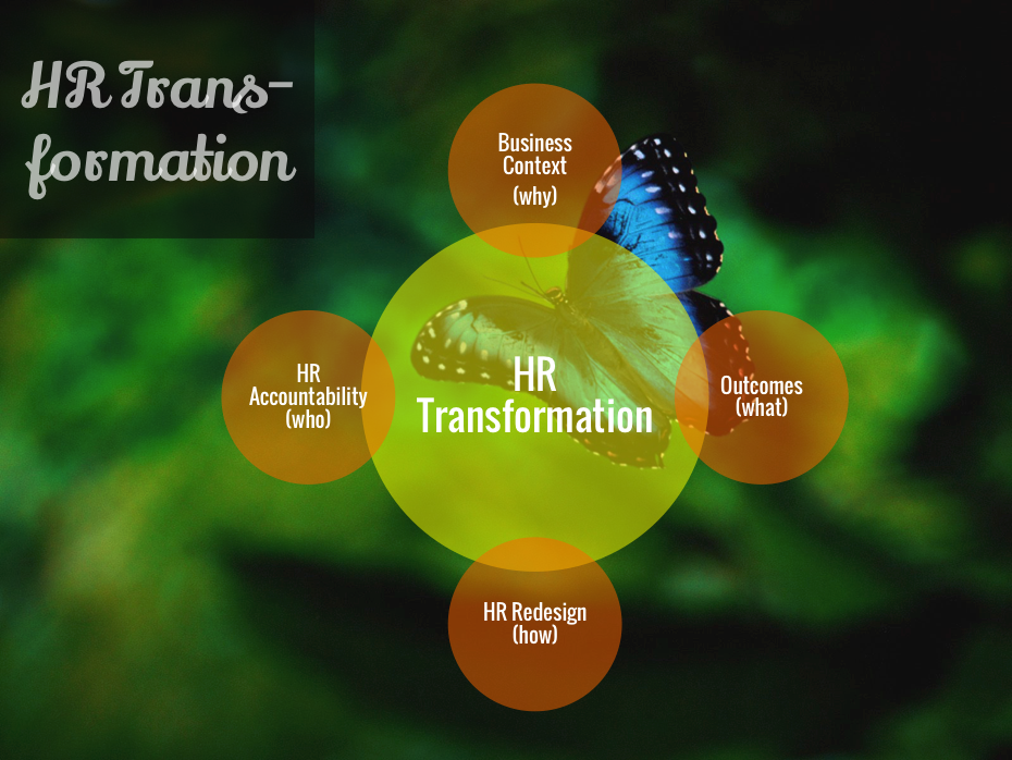Hr Transformation Process  Hr Strategy