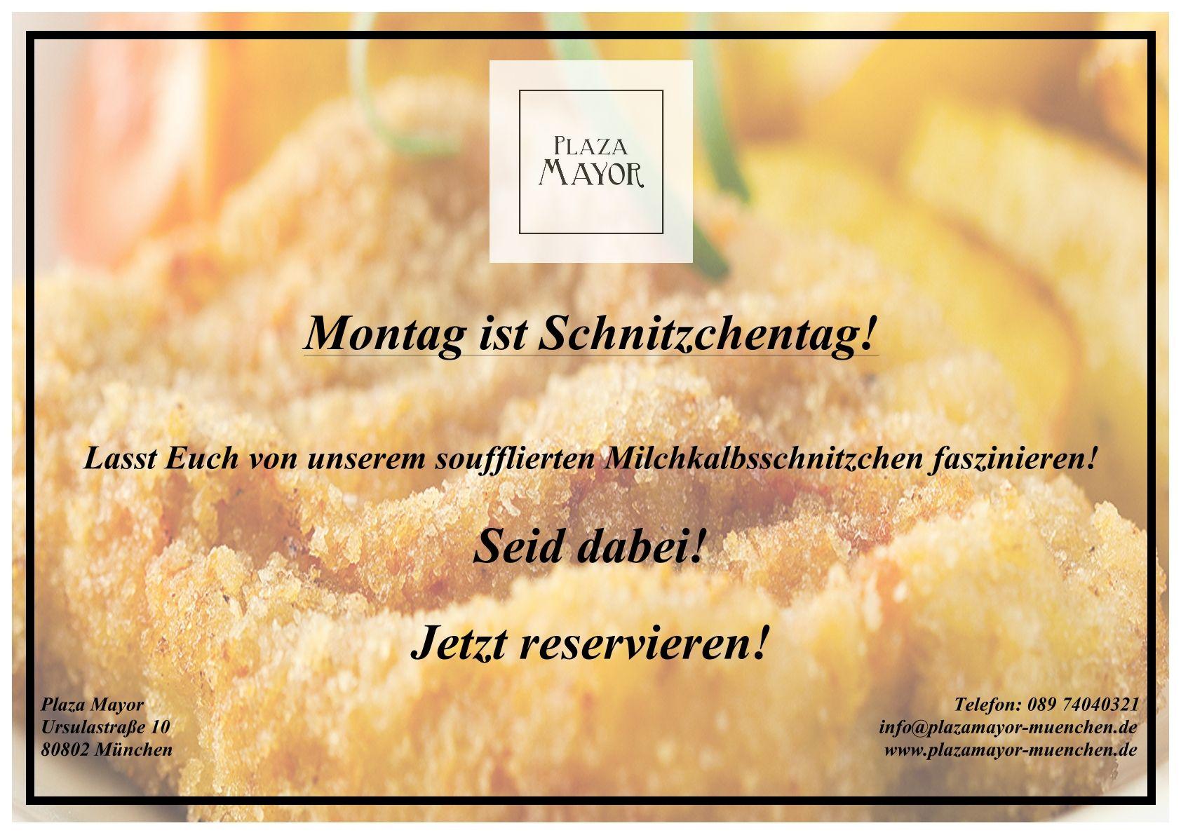 Heute ist es wieder soweit!   THE PLAZA TO BE !!   Plaza Mayor Restaurant  www.plazamayor-muenchen.de/ #Plazamayorrestaurant #Restaurant #Cocktailbar #Muenchen #Schwabing #Eventlocation #Munich #Newopening
