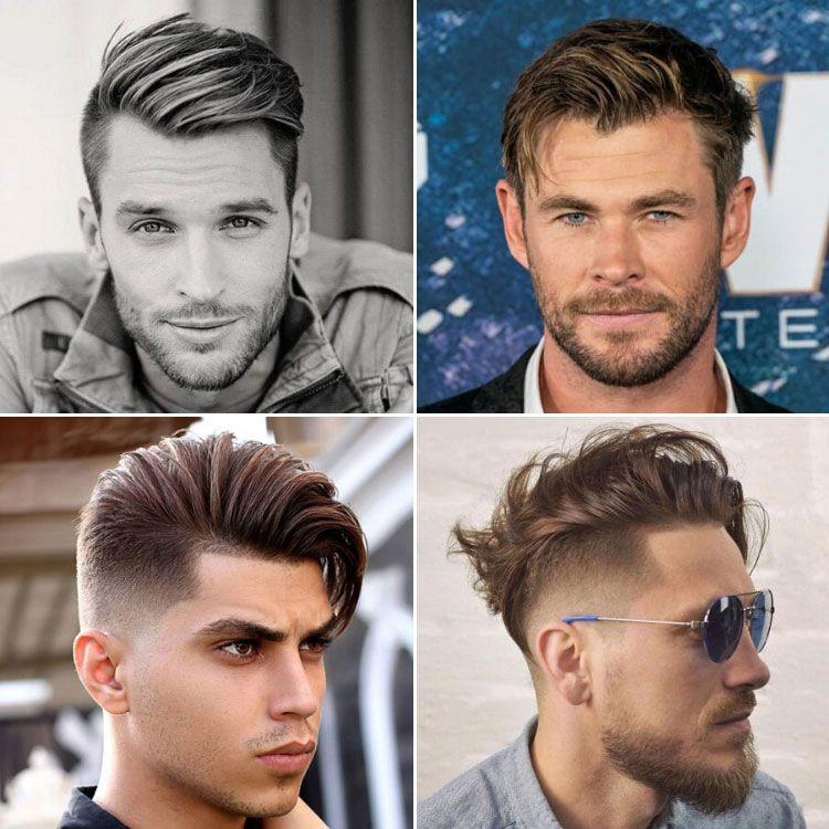 16+ Side swept hair men ideas