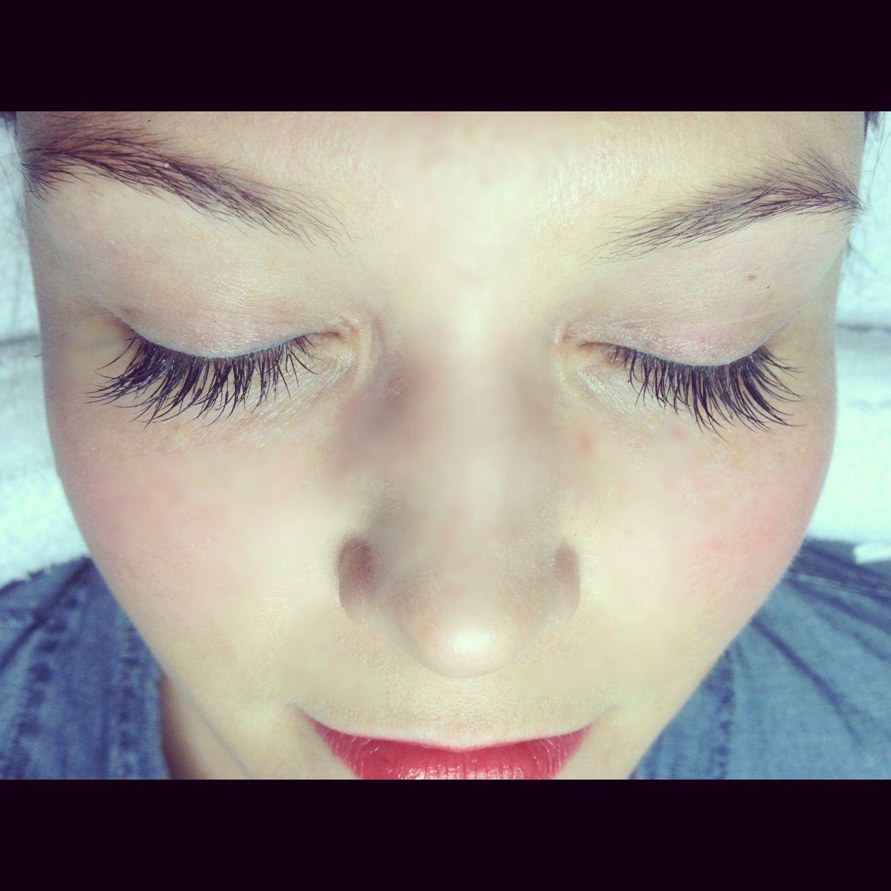 Lash Extensions By Caroline Perdomo Eyes Pinterest