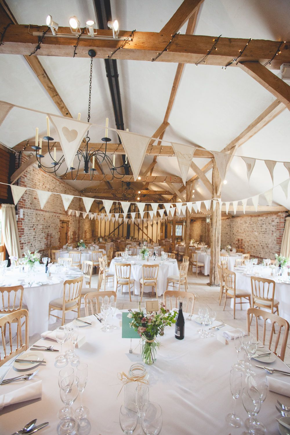 Rustic Pastel Wedding At Upwaltham Barns With Bride In Lace Claire
