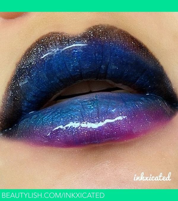 Galaxy / Space inspired | Sharmayne K.'s (inkxicated) Photo | Beautylish