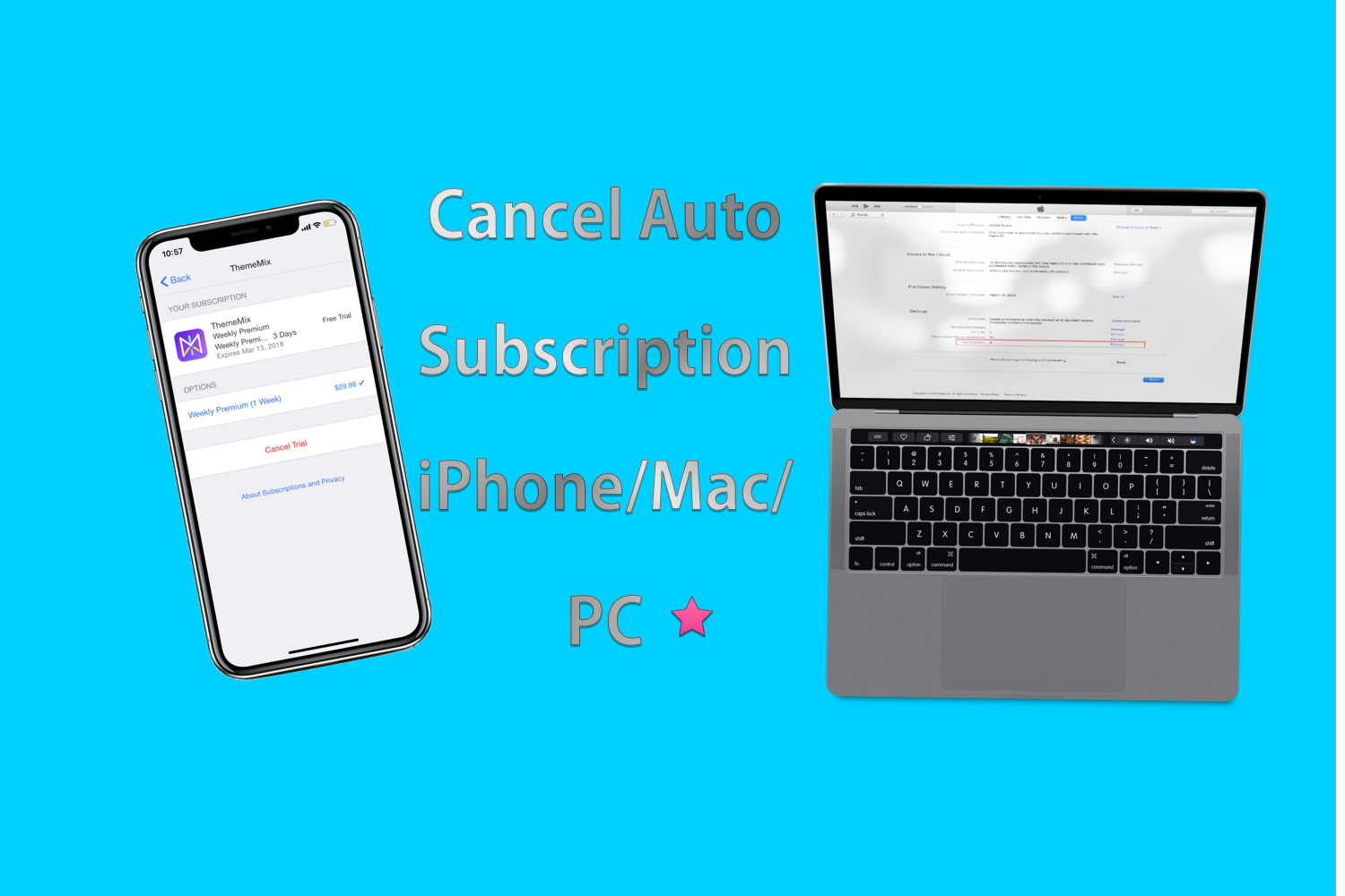 How to Cancel Auto Subscription of App Purchase on iPhone