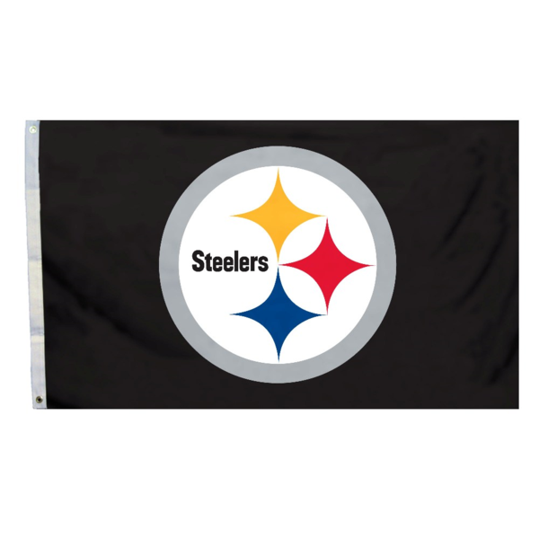 NFL Pittsburgh Steelers 3 Ft. X 5 Ft. Flag W/Grommetts1