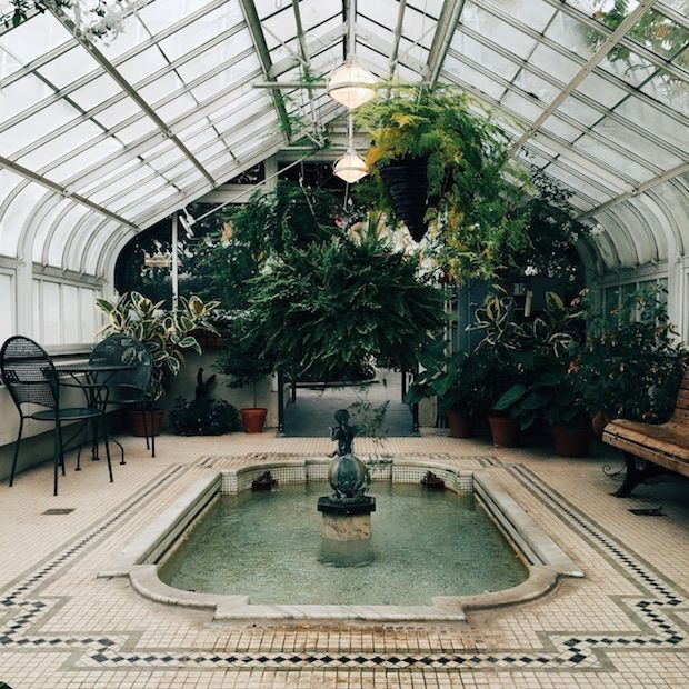 Montreal Botanical Garden Greenhouse