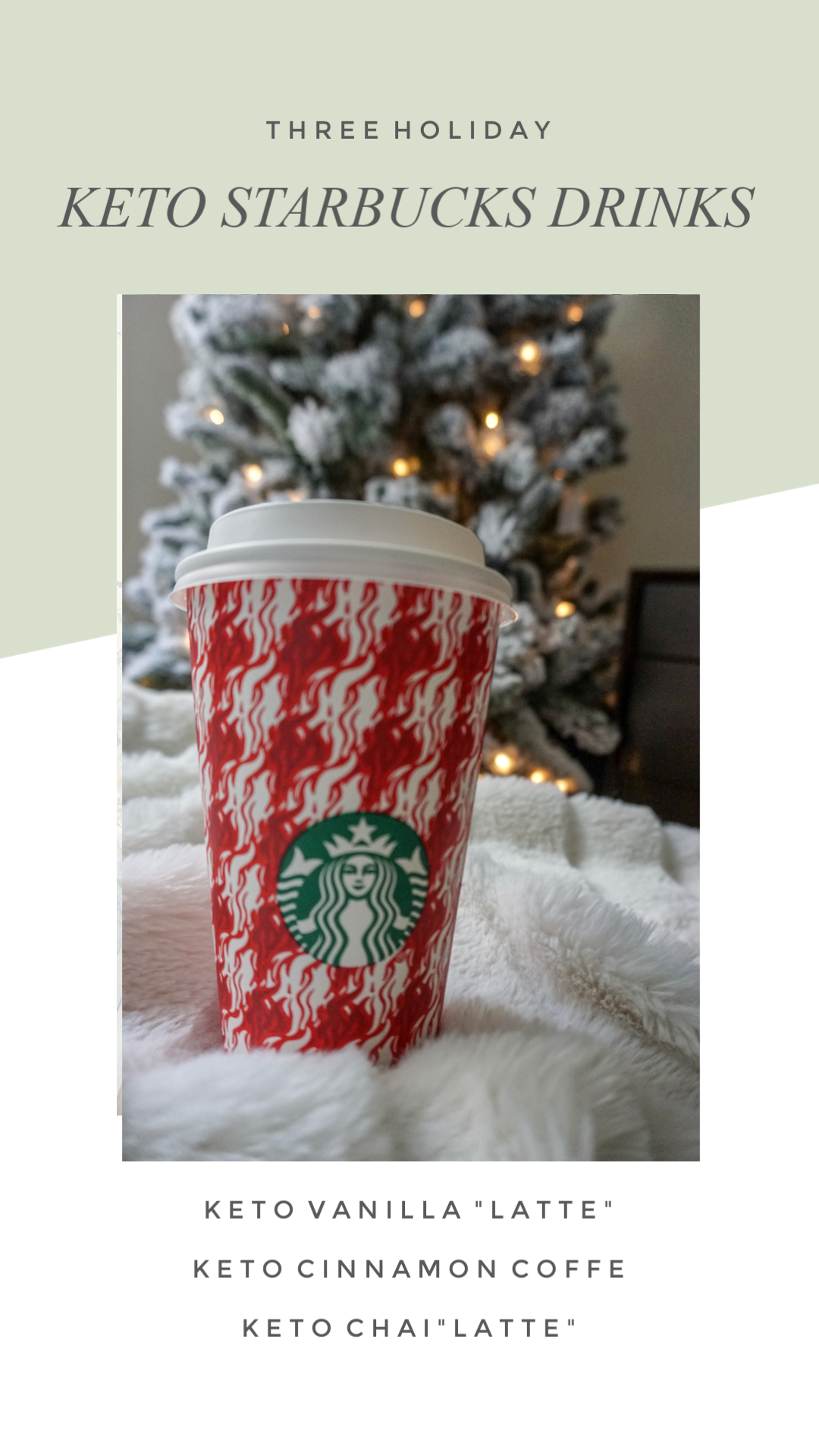 Three Holiday Keto Starbucks Drinks and How to Order Them