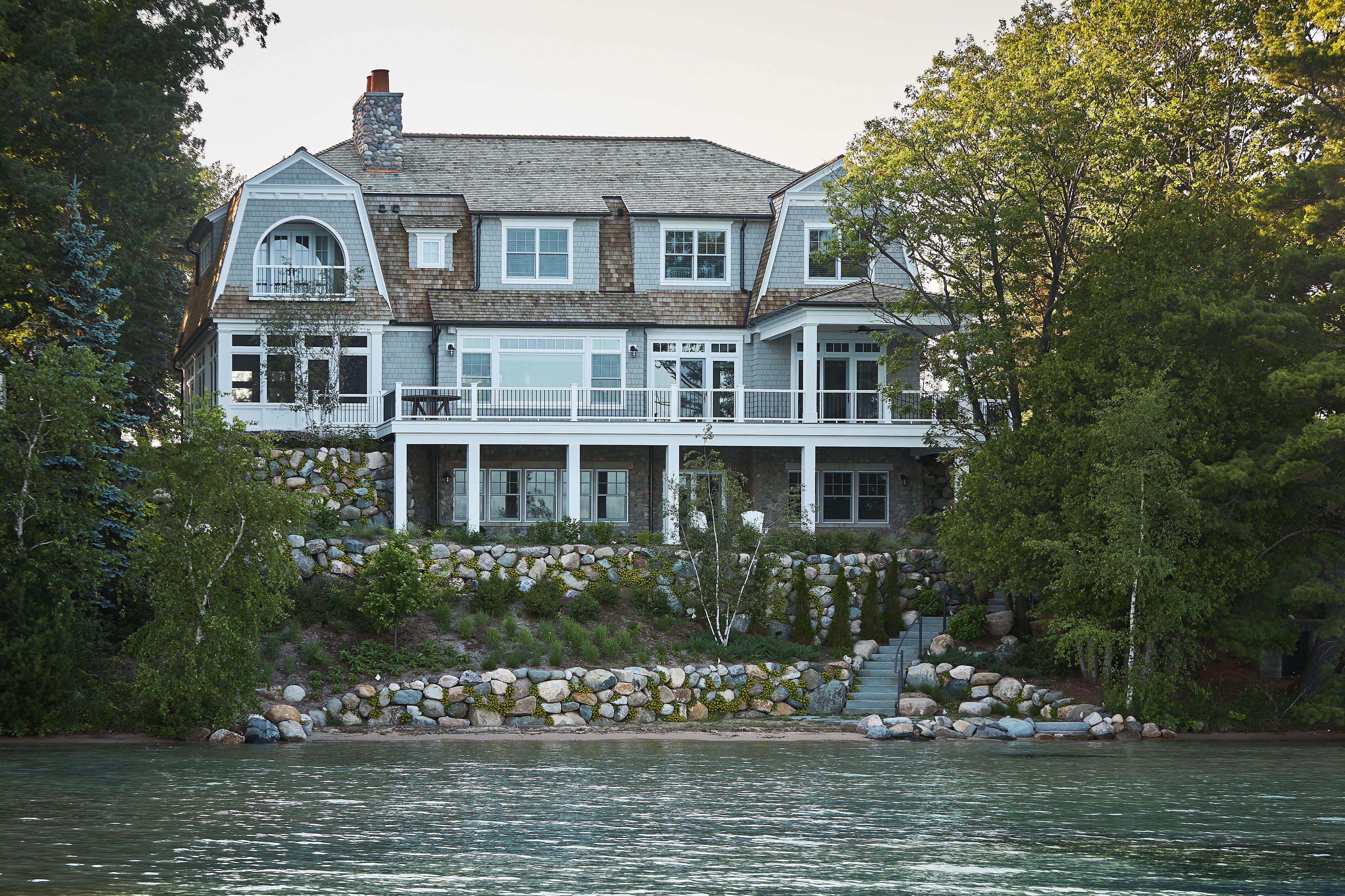 Glen Lake Cottage Sears Architects
