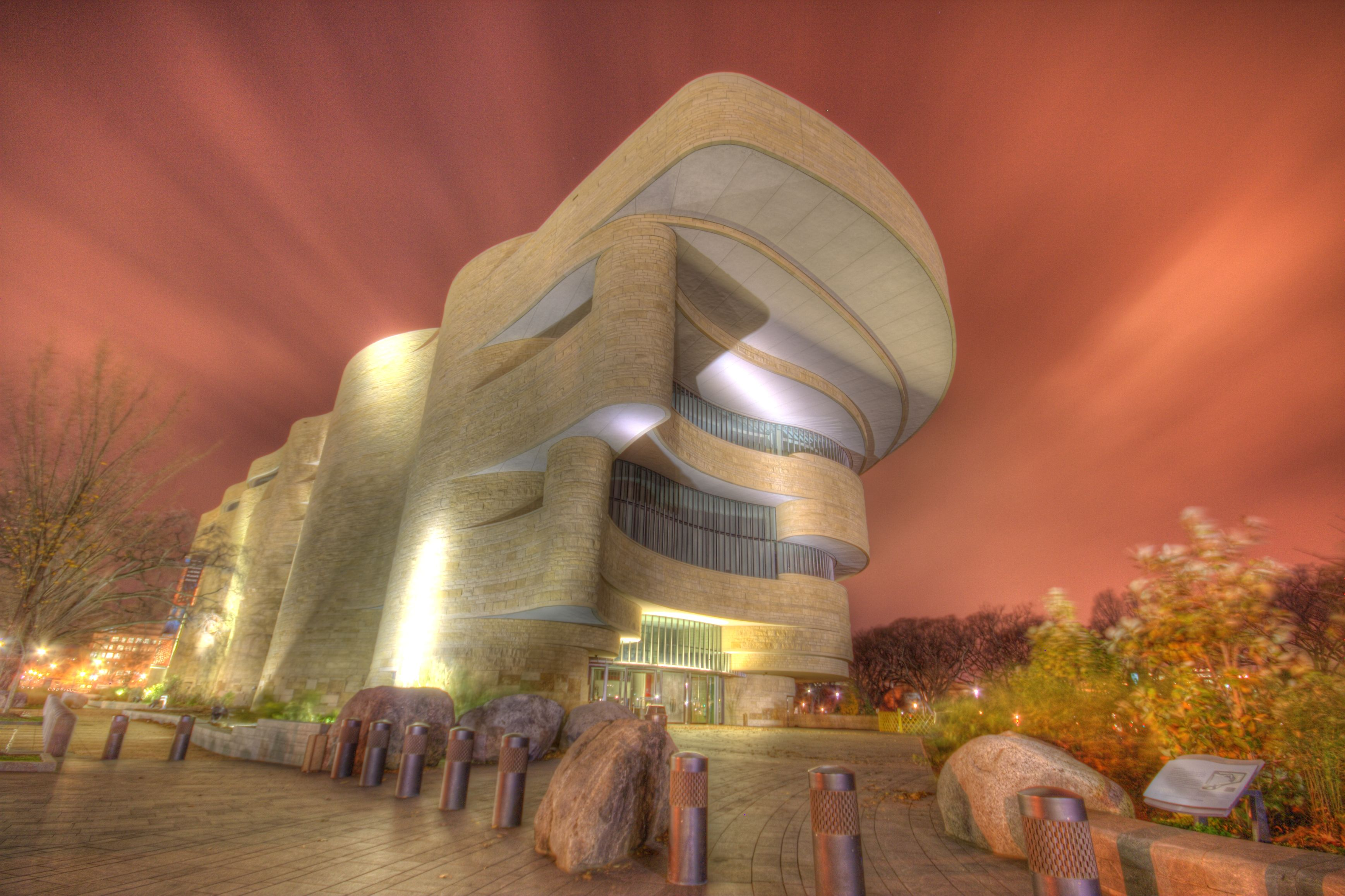 National Museum Of The American Indian Washington HDR - Strangest museums in usa