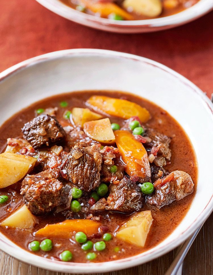 Ina Garten Shares A Beef Stew Recipe From Her New Cookbook Food Network Magazine Ultimate Beef Stew Stew Recipes Food Network Recipes