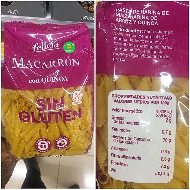 Macarron Con Quinoa Sin Gluten Supermercado Mercadona