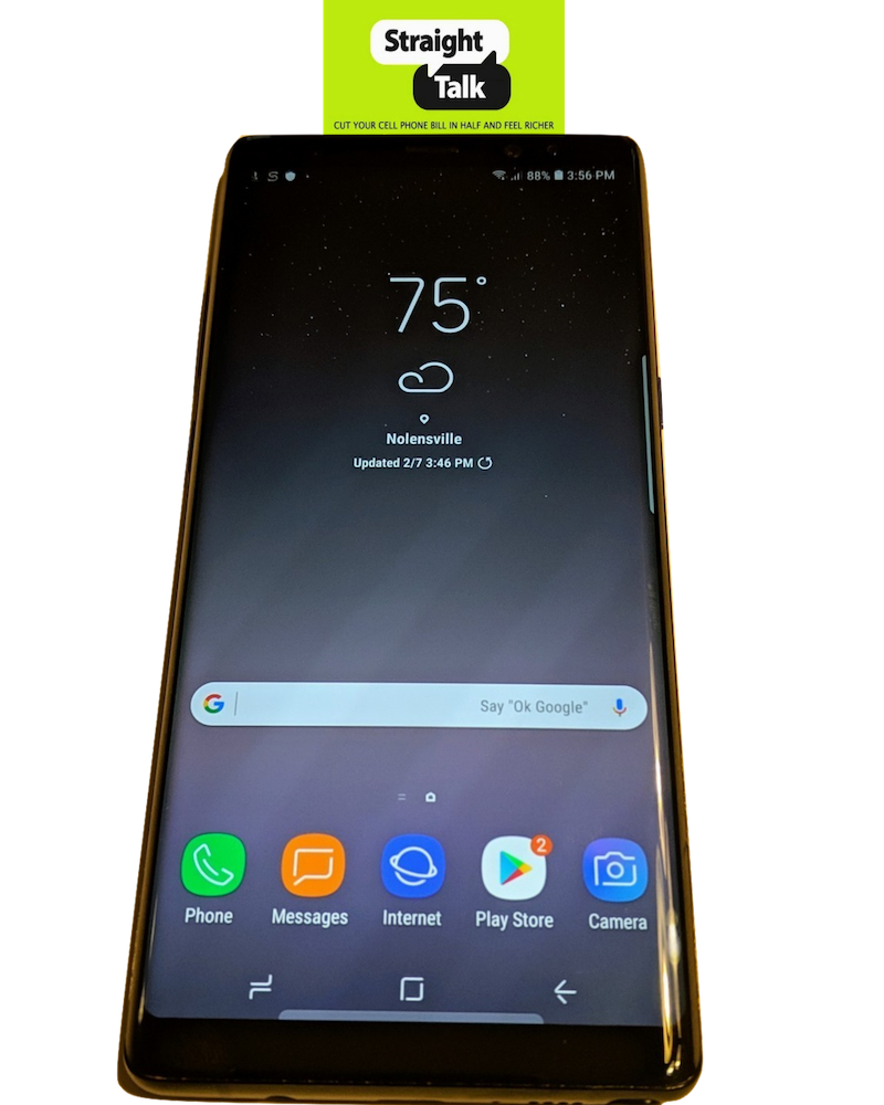 Samsung Galaxy Note8 (N950U) for Straight Talk 64GB 4G