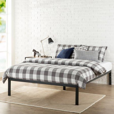 Home Metal Bed Frame Bed Without Headboard Metal