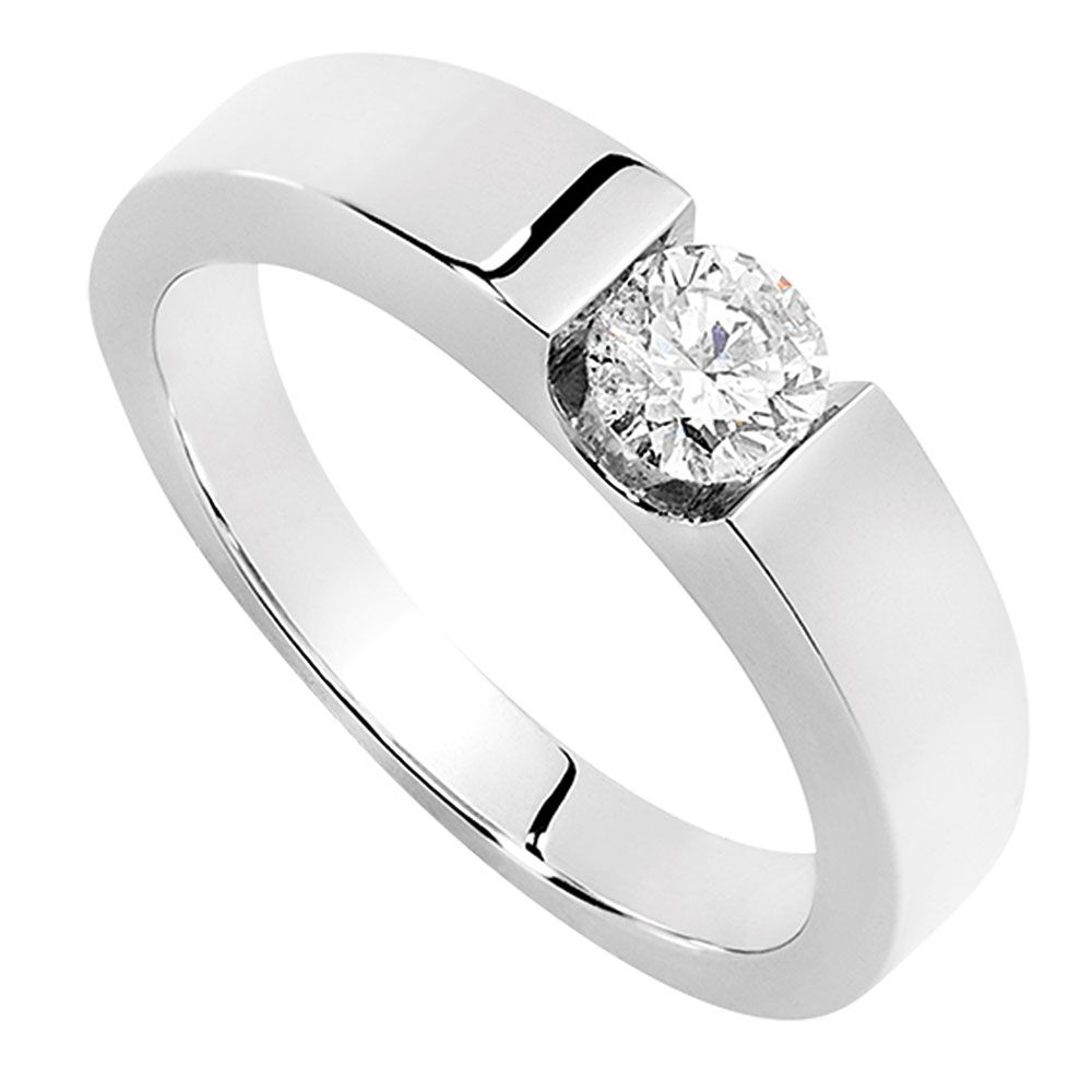 Single Solitaire Diamond Ring For Mens Diamond Solitaire Rings