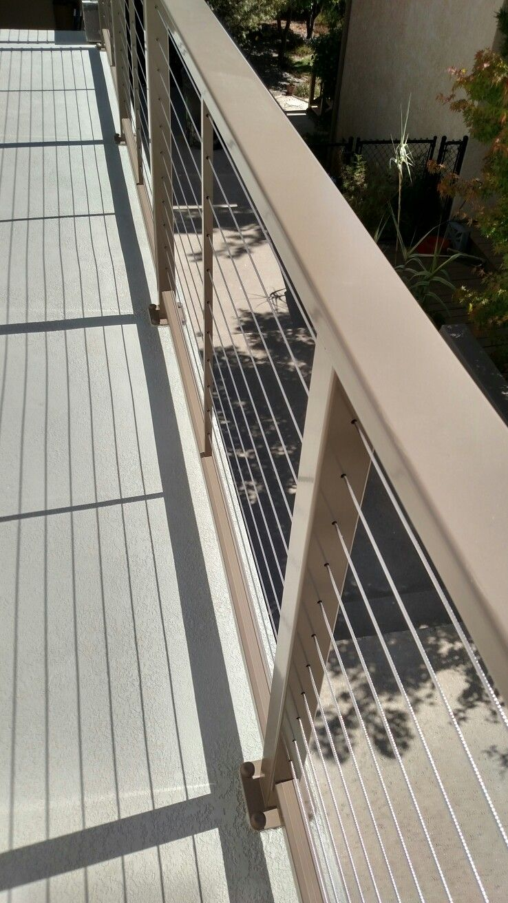 A Beautiful Cable Railing System From Feeney Railing Compliments