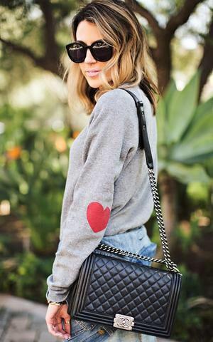 Heart on Your Sleeve Sweatshirt