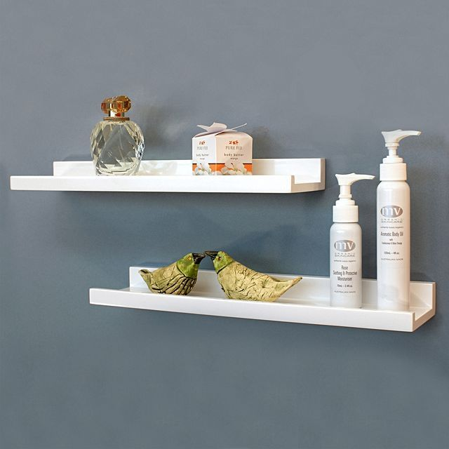 Long Narrow (10cm Deep) Shelf, Zanui, $35