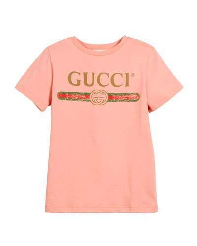 a05ed54c6c8 Gucci Vintage Logo Short-Sleeve Jersey T-Shirt