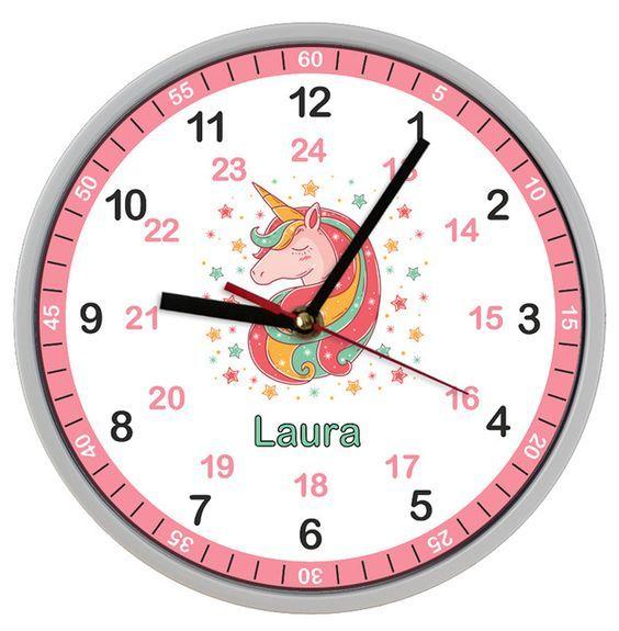 Amazing Uhren, Wanduhren Ideen Für Kinderzimmer Und Jugendzimmer. Einrichtung Und  Dekoration Mädchen Girls Kinderzimmer.