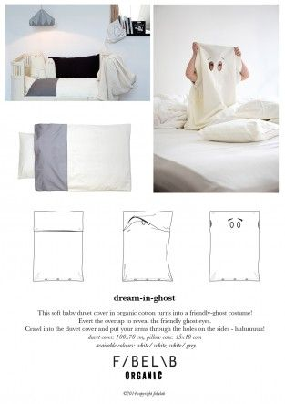 Ghost Bed Linen Grey