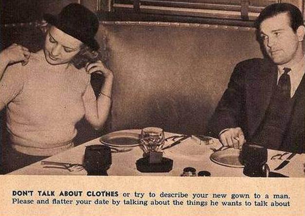 1950s dating advice