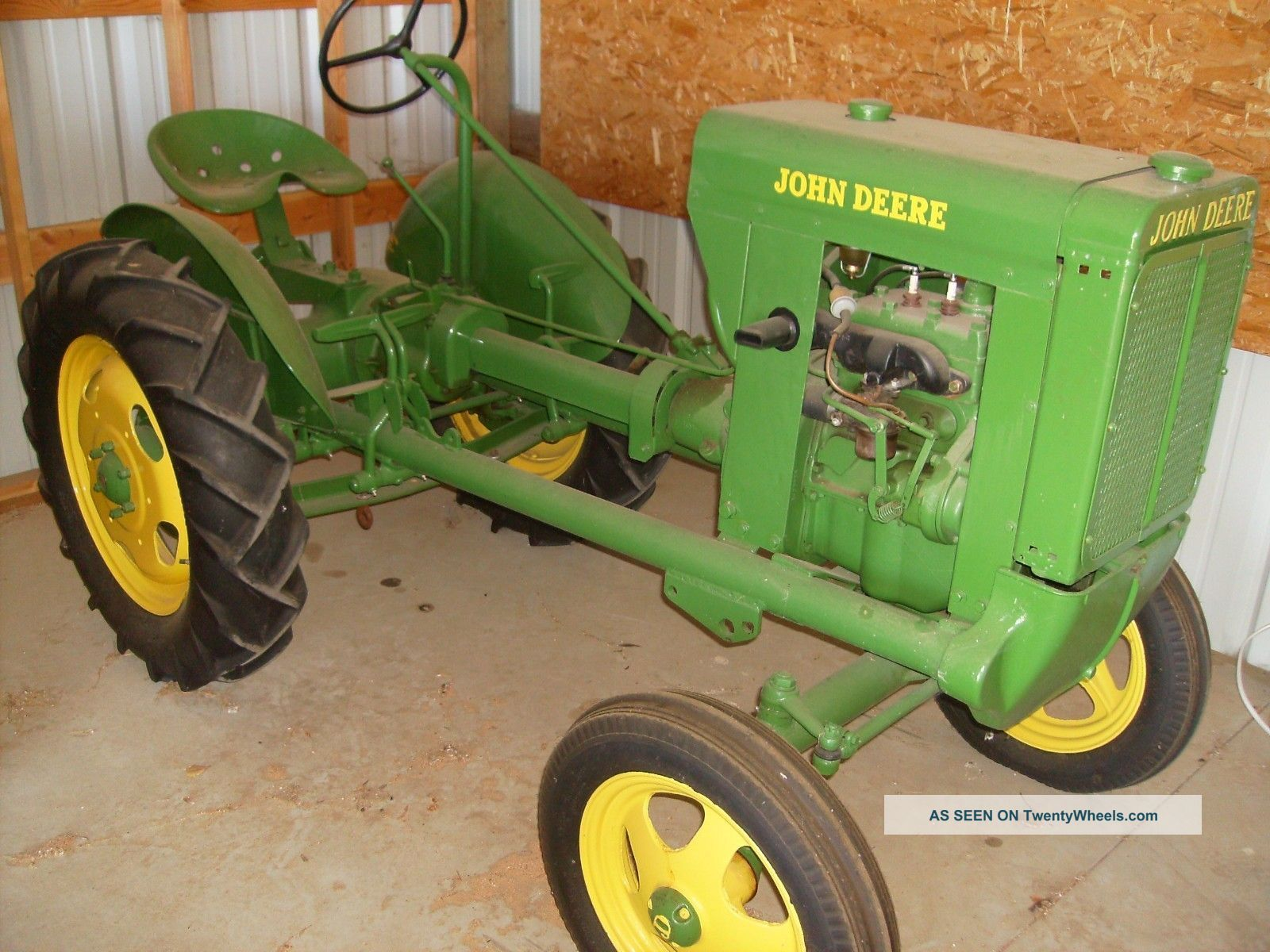 1937 tractors | John Deere 1937 Unstyled L Tractor 2nd Ever Made Ie 62 La  Li Antique .