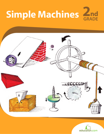 Screw Simple Machine For Kids