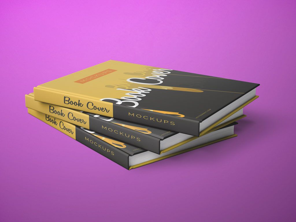 book-cover-presentation-mockups2 | design materials | pinterest, Presentation templates