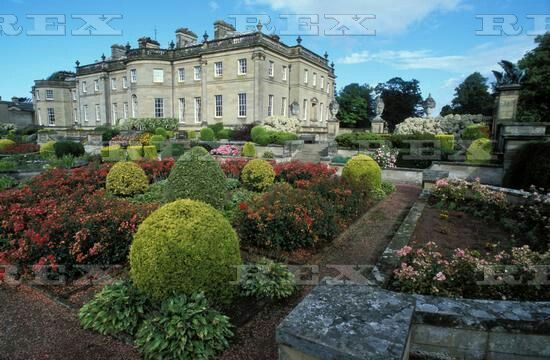 Scotland Britain Manderston House Duns Berwickshire Scotland Is The Home Of Lord And Lady Palmer It Is One Of Scotlan Stately Home House Styles Scotland