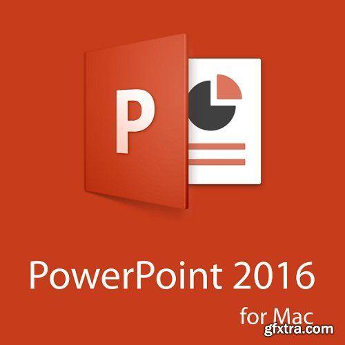 Microsoft Powerpoint 2016 VL 15.37.0 Multilingual Mac OS X