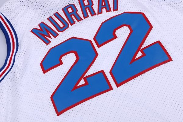 c6d7d382338a  Bill  Murray 22  space  Jam  Tune  squad  white Jersey  jersey   movie jerseys  aflgo  party jersey  sports apparel  freeshipping  equipment
