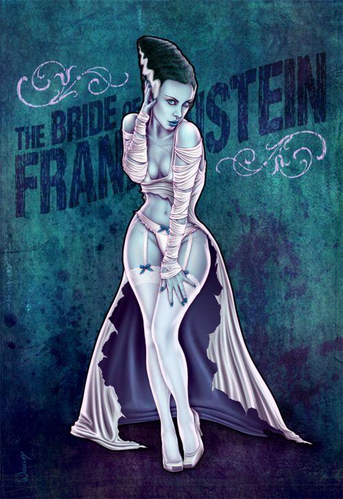 Bride of frankenstein porn