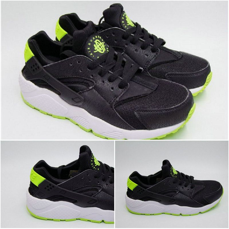 01ff14b565529 Best Modem Huaraches 2016 Latest Running Shoes Male and Female Nike Air  Huarache Black Green 36-45 Factory Outlet
