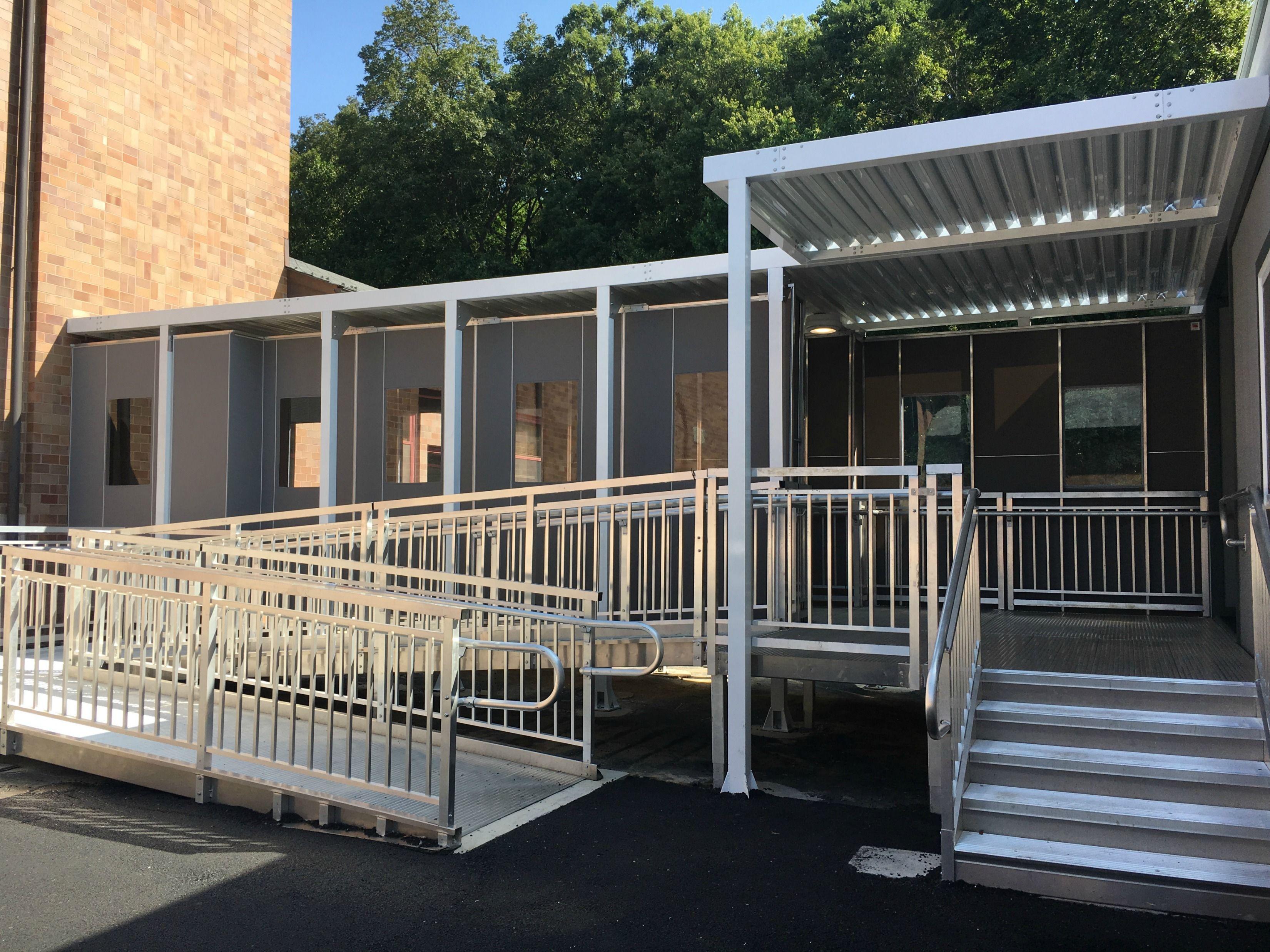 Walkway Enclosure Panels With Images Walkway Paneling Enclosure