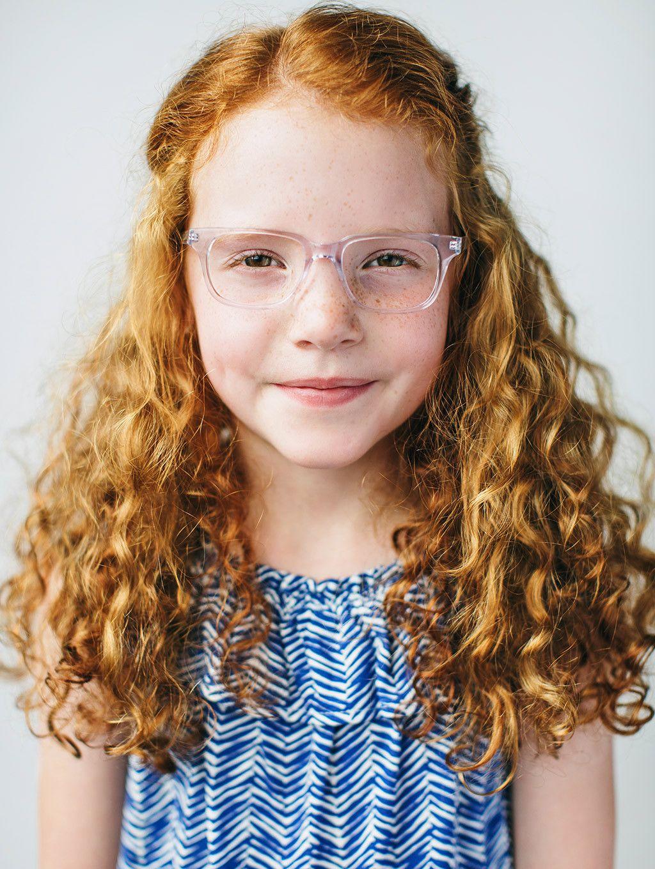 9e10bb98fb Buy fashionable girls glasses with a purpose. Clear rectangular eyeglass  frames for kids by Jonas Paul Eyewear. Prescription lenses included!