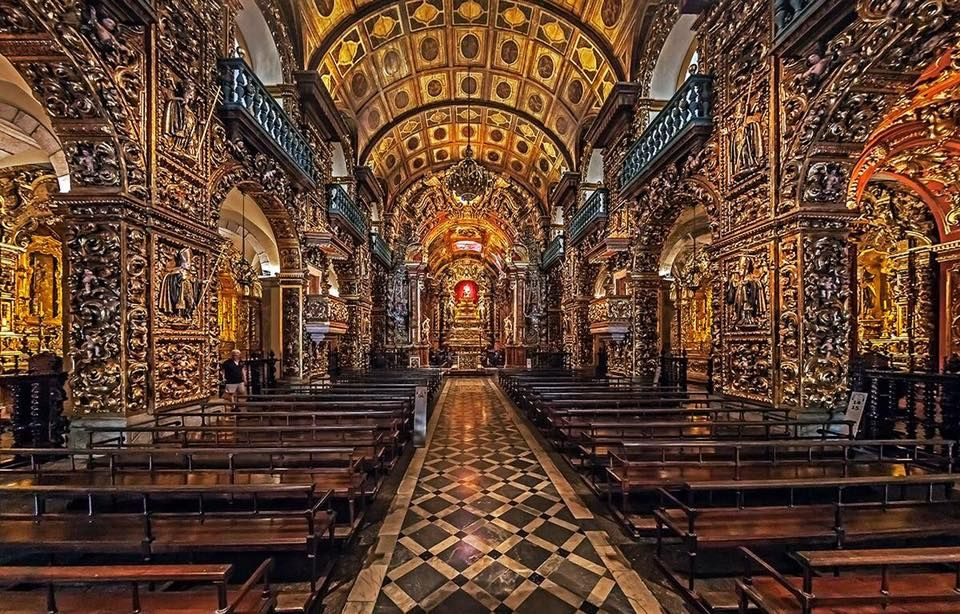 Mosteiro de São Bento no Rio de Janeiro, BR