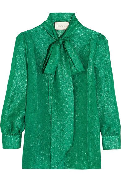 Jade silk-blend jacquard  Button fastenings through front  78% silk, 22% polyester  Dry clean Designer color: Iridescent Green Garden Made in Italy As seen in The EDIT magazine