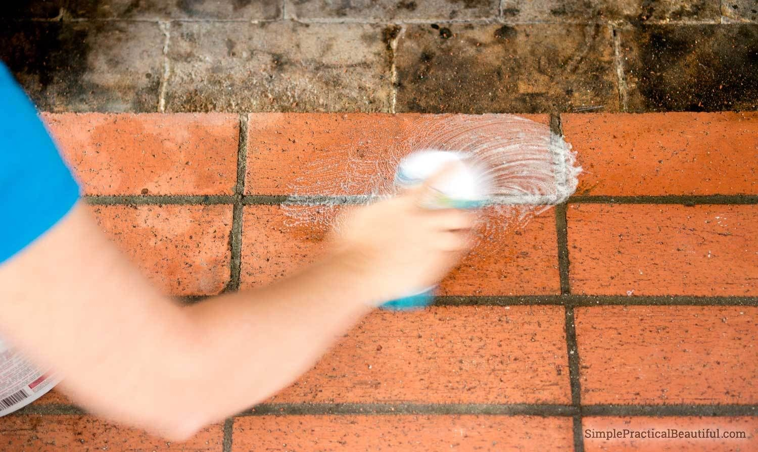 How to clean fireplace bricks simple practical beautiful