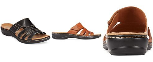 bbb787f28a31 Clarks Collection Women s Leisa Grove Flat Sandals (Only at Macy s ...