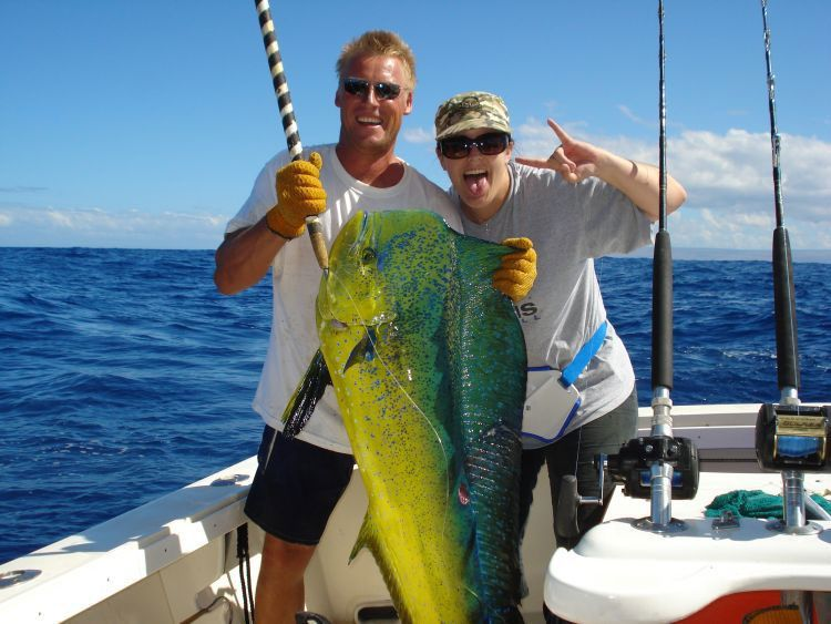 The hokua is probably the most family friendly fishing for Maui fishing charter