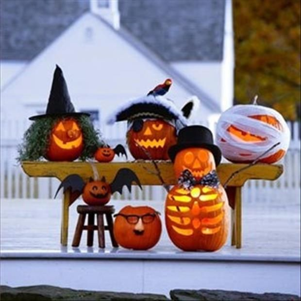 Pumpkin Decorating / Carving Ideas Halloween Pinterest - halloween pumpkin decorations