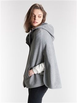 Blouson cuir laine femme