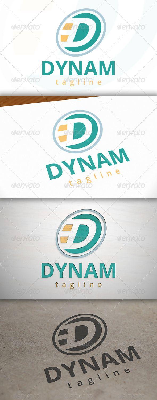 Dynamic Logo Dynamic logo, Letter logo design, Logo