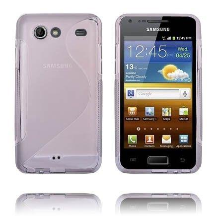 S-Line Läpikuultava (Harmaa) Samsung Galaxy S Advance Suojakuori