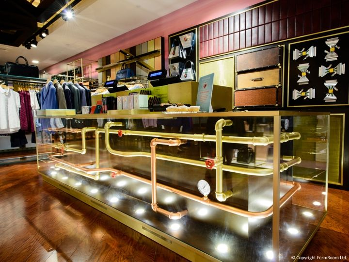 ted baker store by formroom ottowa canada retail design blog - Interior Design Blogs Canada