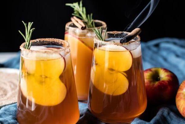 Smoky Harvest Apple Cider Margaritas.